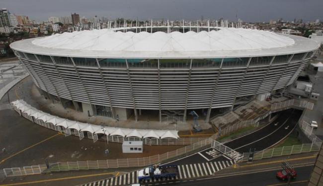 Esquema busca evitar congestionamentos e facilitar o acesso à Arena Fonte Nova - Foto: Lúcio Távora | Ag. A TARDE
