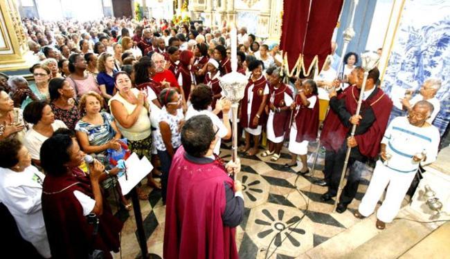 Missas ocorrem pela manhã e à tarde - Foto: Marco Aurélio Martins | Ag. A Tarde