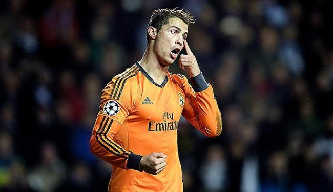 Jogador português foi considerado o melhor jogador de futebol do mundo em 2013 - Foto: Liselotte Sabroe l Scanpix Denmark l Reuters