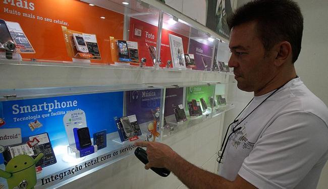 Celulares e smartphones são a preferencia de 48,1% - Foto: Lúcio Távora | Ag. A TARDE
