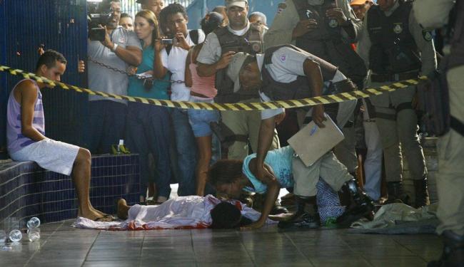 Vendedor ambulante Nadson Alves Bomfim, 19 anos, foi assassinado - Foto: Fernando Amorim   Ag. A TARDE