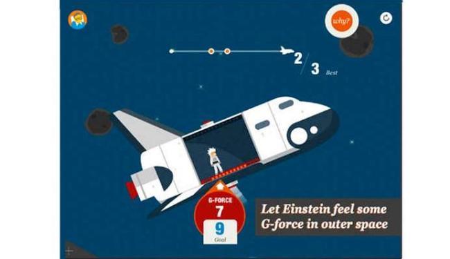 Aplicativo mostra de forma divertida algumas informações sobre o Universo - Foto: Divulgação