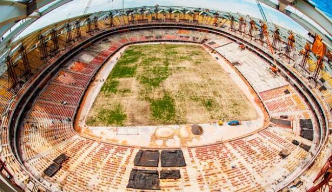 Arena já registrou três mortes durante obras - Foto: Divulgação