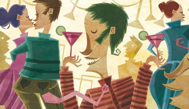 Evite exageros nas celebrações de empresas - Foto: Carapita | Editoria de Arte | A TARDE