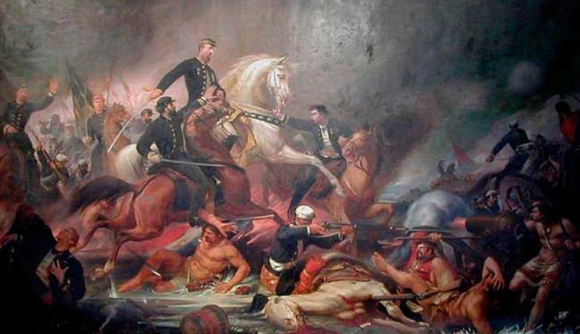 Livro destaca a ambiguidade do quadro histórico que deveria celebrar a Dezembrada - Foto: Reprodução | Pedro Américo