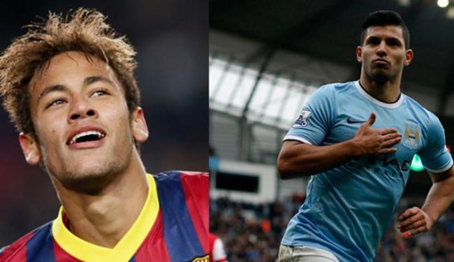 Confronto entre o Barça de Neymar e City de Aguero é um dos jogos mais aguardados das oitavas - Foto: Ag. Reuters