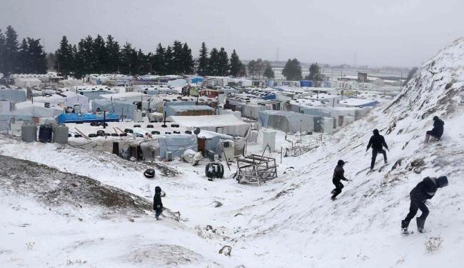 A tempestade começou na quarta-feira, quando caiu mais de meio metro de neve em Jerusalém - Foto: Agência Reuters