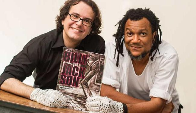 Victor e Cau com a HQ Billy Jackson - Foto: Caixa de Fósforos Fotografia | Divulgação