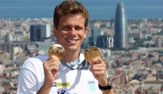 Cielo pode conquistar pela quarta vez o prêmio de melhor atleta do ano - Foto: Satiro Sodre/ SSPress