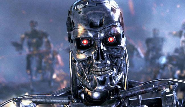Robô do filme de O Exterminador do Futuro - Foto: Divulgação