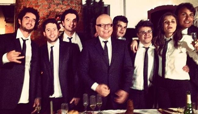 Felipe Andreoli postou foto da equipe com mensagem de despedida para Mônica - Foto: Instagram | Reprodução
