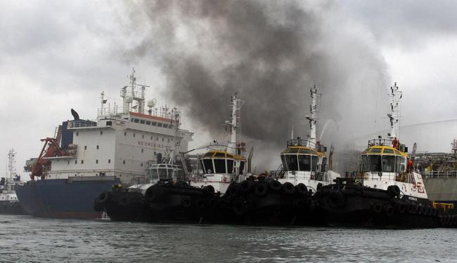 22 tripulantes estavam no navio no momento da explosão - Foto: Lúcio Távora | Ag. A TARDE