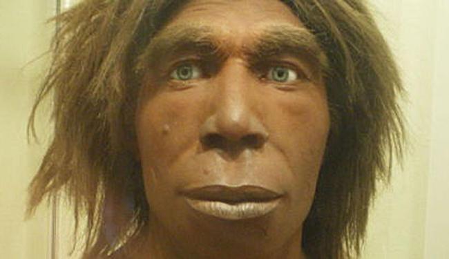 Representação de um Neanderthal do Museum für Naturkunde de Berlim, na Alemanha - Foto: Reprodução