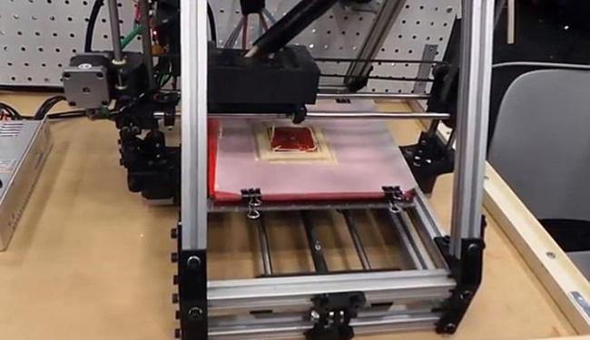 Impressora 3D de comida foi desenvolvida com o apoio da Nasa - Foto: Reprodução