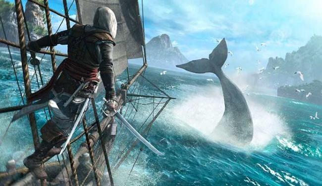 É possível também no game caçar baleias e tubarões - Foto: Divulgação
