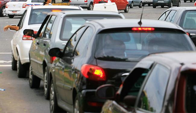 A diminuição do imposto ocorreu em função da depreciação dos veículos usados - Foto: Joá Souza/ Ag. A TARDE