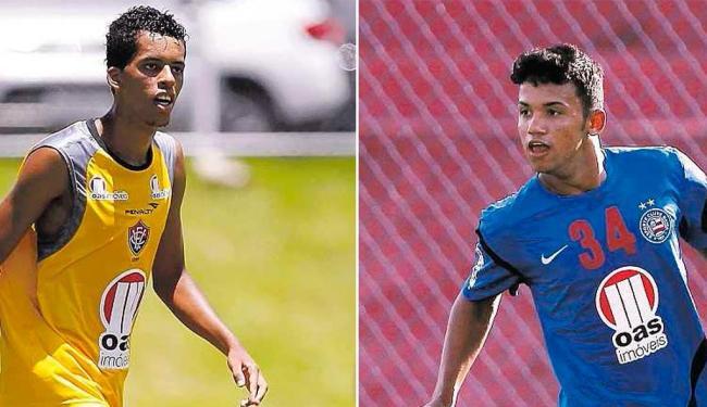 Zagueiro Josué terá chance com Ney em 2014; Railan, por sua vez, treina com o time do Esquadrão - Foto: Fotos Eduardo Martins | Ag. A TARDE