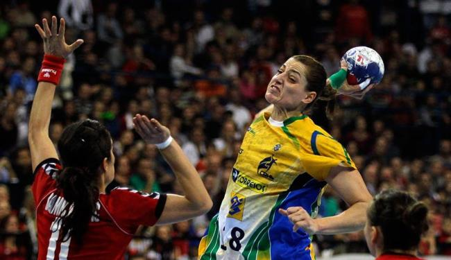 Duda foi eleita a melhor jogadora do Mundial e foi essencial na conquista brasileira - Foto: Darko Vojinovic | AP Photo