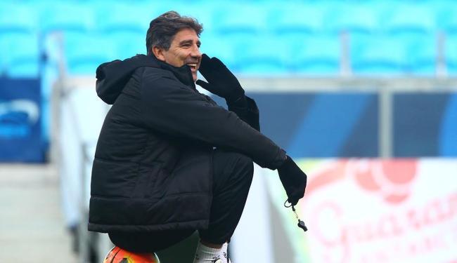 Em 2008, Renato Gaúcho foi vice campeão da Libertadores como treinador do Fluminense - Foto: Lucas Uebel | Divulgação