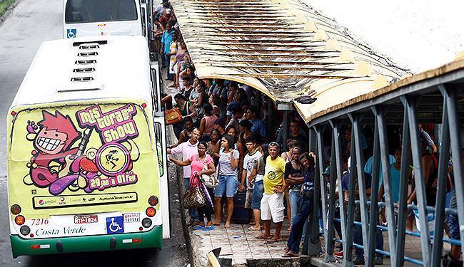 Categoria causou transtornos à população ao impedir a circulação de ônibus intermunicipais - Foto: Fernando Vivas | Ag. A TARDE