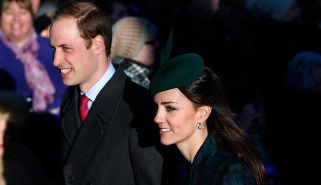 Kate e William passaram a manhã com o filho - Foto: Agência Reuters