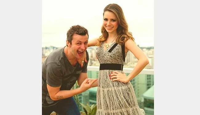 Sandy e o marido Lucas Lima comemoram a gravidez - Foto: Reprodução   Facebook