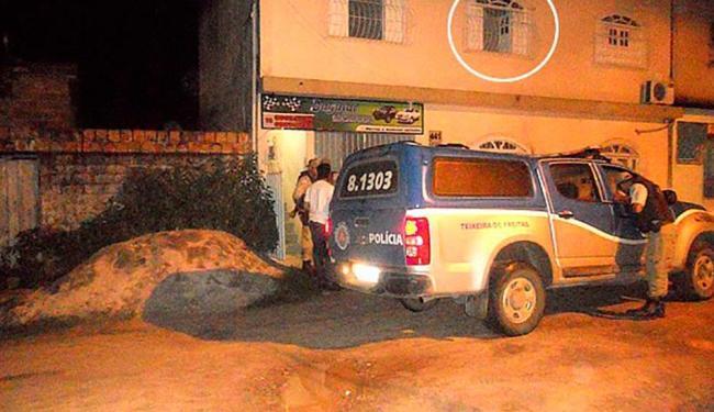 Pai liberou a criança depois de cerca de 8 horas de cárcere privado - Foto: Reprodução | Tyago Ramos | Site Teixeira News