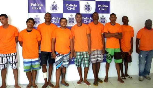 Criminosos foram presos no Alto da Sereia, entre os bairros de Ondina e Rio Vermelho - Foto: Divulgação | Polícia Civil