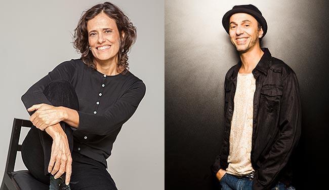 Zélia Duncan e Zeca Baleiro apresentam nova parceria em show no TCA - Foto: Gal Oppido | Divulgação