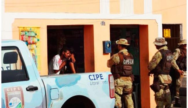Antônio estava com um caco de vidro na altura do pescoço da adolescente - Foto: Anselmo Oliveira | Acajutiba News