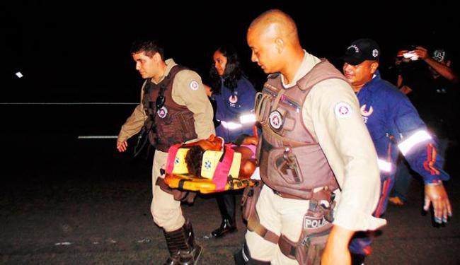 Acidente aconteceu no sentido Feira de Santana, - Foto: Claúdio Cassiano/ Ag A Tarde
