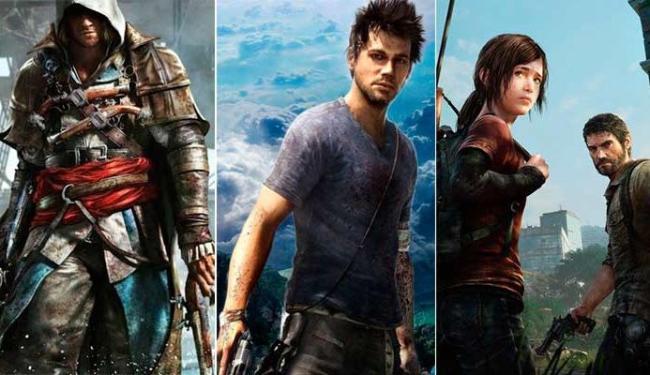 Assassin´s Creed IV, Far Cry 3, The Last of Us estão na lista do cineasta - Foto: Divulgação