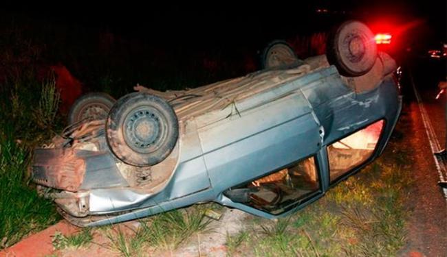 Motorista do veículo ficou ferido e precisou ser levado para hospital - Foto: Uinderlei Guimarães | Sulbahianews