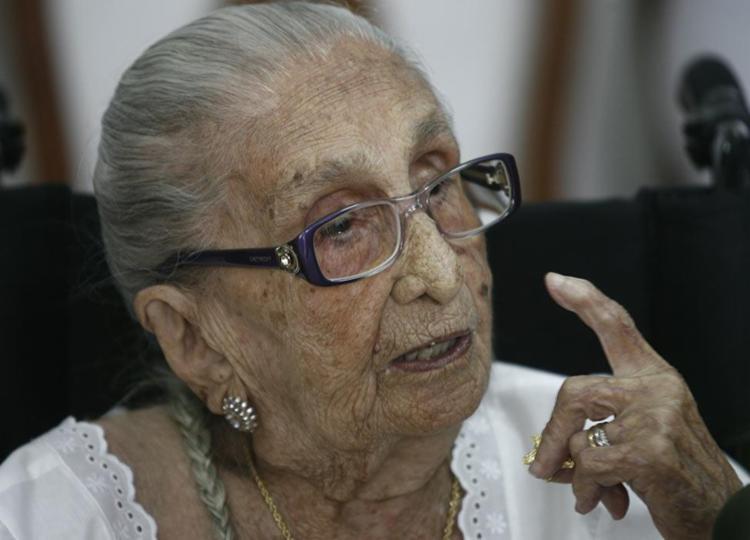 Dona Canô morreu em 25 de dezembro de 2012, aos 105 anos de idade - Foto: Luiz Tito | Ag. A Tarde
