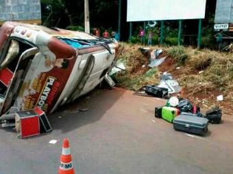 Produtor morreu e quatro pessoas ficaram feridas em acidente - Foto: Reprodução