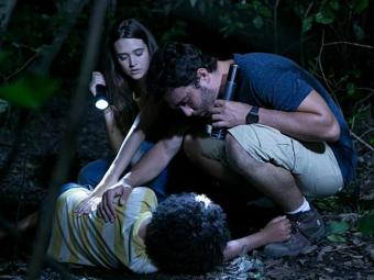 Nilson foi picado por uma cobra - Foto: TV Globo | Divulgação