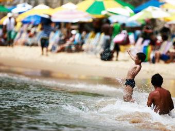 Temperatura máxima do estado pode alcançar 34ºC - Foto: Raul Spinassé / Ag. A TARDE