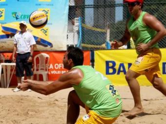 A temporada 2014 do vôlei de praia será aberta em abril - Foto: Esporte Clube Vitória   Divulgação