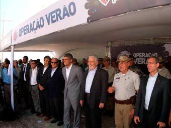 Governador participa de evento de lançamento da operação - Foto: Divulgação | Mannu Dias | GovBA