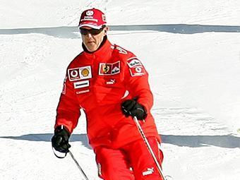 O esqui sempre foi uma das atividades preferidas de Schumacher - Foto: Alessandro Bianchi l Reuters