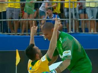 Brasil venceu a Agentina por 10X1 - Foto: Reprodução | TV GLOBO