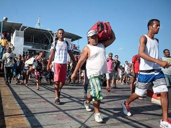 Internacional Marítima opera o ferry desde março de 2013 - Foto: Edilson Lima   Ag. A TARDE