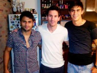 Maxi e Emanuel Biancucchi ao lado do primo famoso - Foto: Divulgação | Esporte Clube Bahia