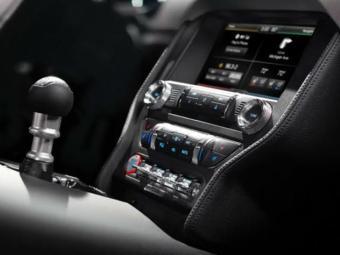 Novo sistema multmídia mostrado no Mustang - Foto: Divulgação Ford