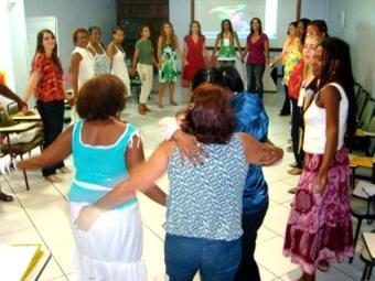 Participantes também assistem a palestras sobre violência - Foto: Divulgação