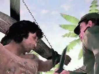 Rambo apresenta gráficos medíocres para os padrões atuais - Foto: Divulgação