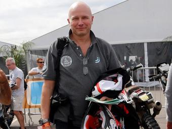 Palante, de 50 anos, competia nas motos e participava do Dacar pela 11ª vez - Foto: Enrique Marcarian l Reuters