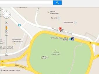 Praça aparece com o antigo nome: Adolf Hitler - Foto: Reprodução