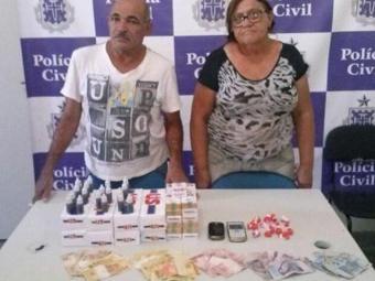 Belarmino Pereira, de 59 anos, e Maria Matias Pereira, 60, - Foto: Divulgação/ Polícia Civil