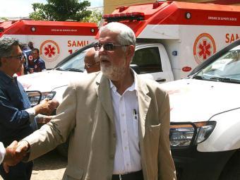 Solla entregou seis ambulâncias em Barreiras - Foto: Miriam Hermes | Ag. A TARDE